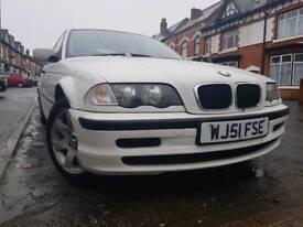 BMW 318I WHITE, 2001, ONE OWNER