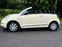 Citroen C3 Pluriel Cabriolet Special Edition - totally as new