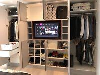 Bespoke furniture , Bookshelving units , floating shelves , built in wardrobes.