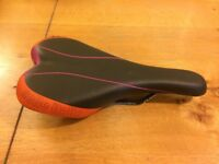 Selle Italia X1 Lady saddle in orange
