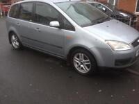 2005 Ford C-Max 1.8 tdci mot for a year