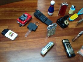 Collection of lighters