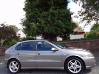 12 MONTH WARRANTY! (2005) SEAT Leon Cupra 1.9 TDi 150 BHP 5 DR 2 Owners - Low Mileage - Full History