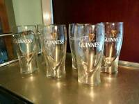 Guiness Pint Glasses