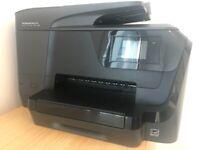 HP OfficeJet Pro 8718 5 in 1: 1. Printer 2. Fax 3. Scanner 4. Copy machine 5. Web