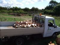 Logs, firewood, free delivery, fire wood seasoned log sales