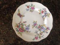 Aynsley Side Plate - butterfly