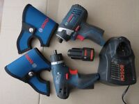 Bosch 10.8 GDR , GSR Holster, charger, battery