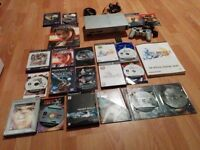 Ultimate Ps2 Silver Console Bundle Final Fantasy Silent Hill Star Ocean Elec