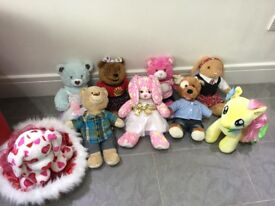 Build A Bear Bears and Accessories