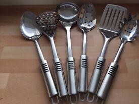 6 ProCook Stainless Steel Utensils