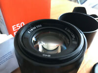SONY Lens 50 mm F/1.8 E-mount, SEL50F18