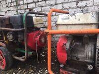 2 x Honda GX390 Petrol Engines for spares