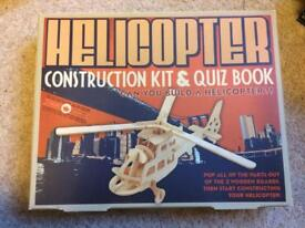 Helicopter construction kit