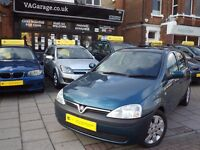 Vauxhall Corsa 1.2 i 16v Comfort 5dr£780 p/x welcome Service History, Long Mot