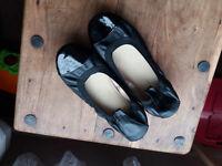 New Look black flats shoes