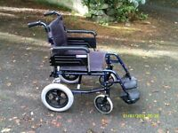 WHEELCHAIR also CAMODE will sell separate .