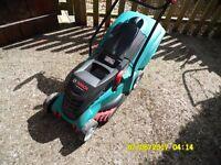electric bosch lawn mower