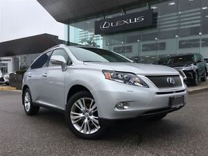 2010 Lexus RX 450H AWD Navi Back Up Cam Leather Bluetooth Sunroo