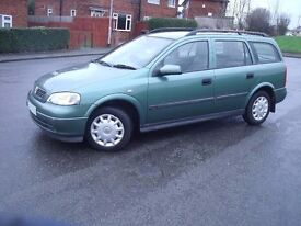 Vauxhall Astra 1.6 Club Estate, MOT Oct 17, £450 Or Swap For Decent Sized Diesel.