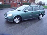 Vauxhall Astra 1.6 Estate, Full MOT, £450 Swap Peugeot 406, Rover 75, Renault Megane, Laguna Diesel.