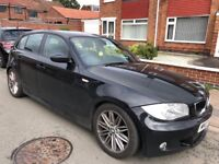 BMW 1 Series 2.0 120d M Sport 5dr SMOKES BADLY POSSIBLE TURBO !! 2007 (07 reg), Hatchback