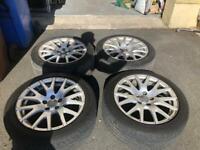 Genuine Audi TT wheels