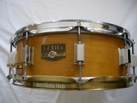 "Tama Artwood solid maple snare drum - 14 x 5 1/2"" -Japan - '80s - BITSA"