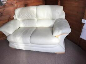 Sofa real leather
