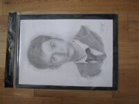 David Tennant Sketched By Jonathan Wood (Cash Only/Buyer Collects)