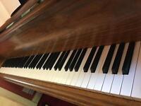 "Steck Baby Grand Piano 5' 6"""