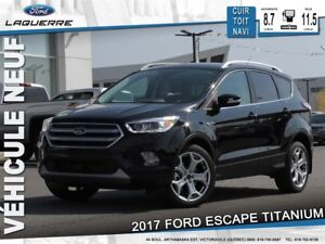 2017 Ford Escape Titanium*115$/Semaine*
