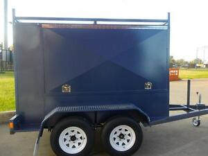 TRADESMAN BOX TRAILER 8 X 5 X 5 BY UNIQUE TRAILERS & ENGINEERING Prestons Liverpool Area Preview