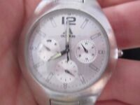 WATER RESISTANT 200M ADIDAS CHRONOGRAPH WATCH WITH TIME, DAY, DATE, AND 24HR FEATURE FOR SALE/SWAP.