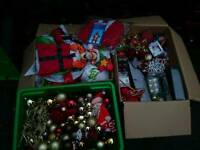 Christmas decorations joblot