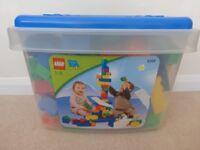 Lego Quatro box with 97 bricks