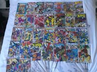 A range of X-men comics