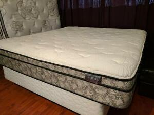 Awesome King Pocket Coil Memory Foam Euro Top Haylee Mattress - $260 (Metrotown - Includes Delivery)
