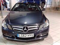 Mercedes Benz E Class Auto Cabriolet 16,600mls £21,500
