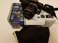 Olympus PEN LITE E-PL5 CAMERA WITH SINGLE LENS COMES WITH BOX AND INSTRUCTIONS