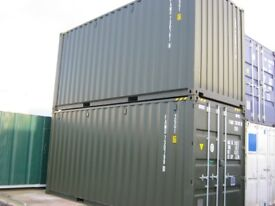 20ft x 8ft High Cube One Trip Shipping Container's FOR SALE site store portable cabin SCOTLAND