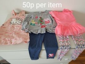 Girl clothes 2-3 years old in excellent condition