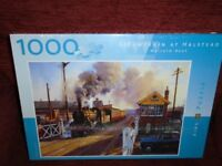 Steam Train at Halstead jigsaw puzzle