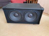 2 x 12 Guitar Speaker Cabinet Eminence BETA-12A-II