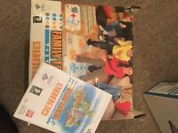 Wii family trainer mat with game