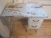 Small Solid Oak Writing Desk