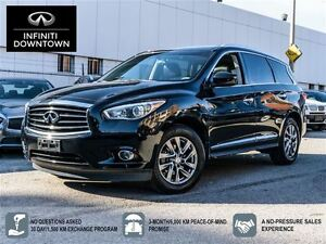 2013 Infiniti JX35 from 0.9% AWD with 4 BRAND NEW TIRES