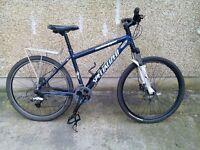 Specialized rockhopper mountain bike hardtail hybrid