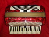 PIANO ACCORDION HOHNER VERDI 120 BASS