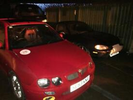 Mg zr track car